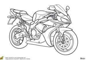 мотоциклов фото раскраска
