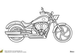 мотоциклы раскраски крутые