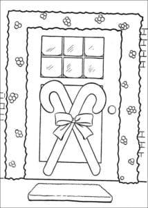 на новый год картинки раскраски снежинок А4