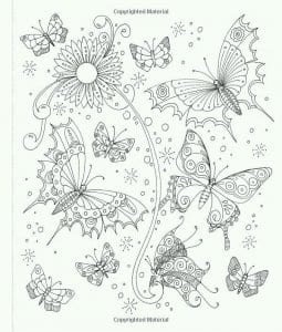 na-temu-babochki-raskraski-255x300 Бабочки