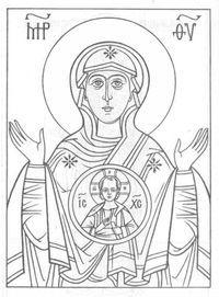 на тему православие раскраски 2