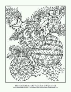 новый год для детей раскраска
