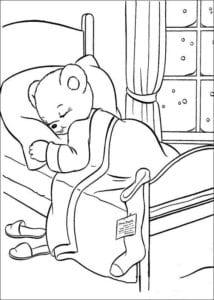 новый год картинки для детей раскраски А4