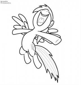 онлайн мой маленький пони раскраски