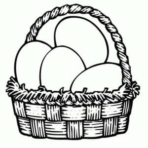 пасха яйца раскраски