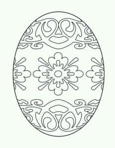 пасха яйца распечатать раскраски новая