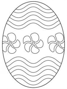 пасха яйца скачать раскраски новая