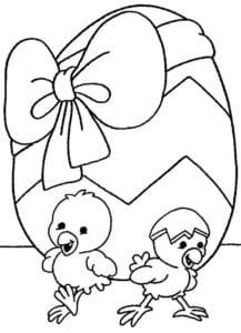 пасха раскраска для детей скачать распечатать красивая