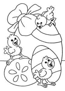 пасха раскраска для детей скачать
