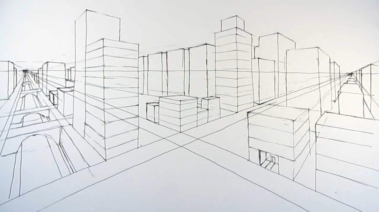 perspectiva Уроки рисования