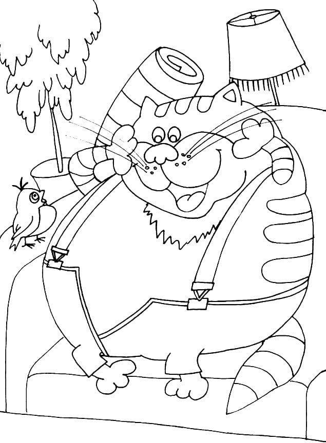 popugaj-kesha-raspechatat-raskraska попугай кеша распечатать раскраска