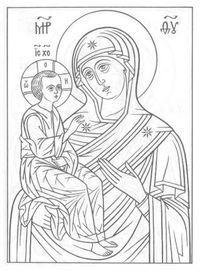 православные распечатать раскраски 2