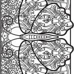 про бабочек онлайн раскраски