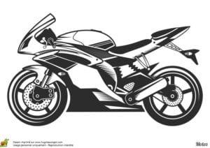 про мотоциклы раскраска