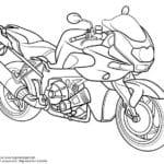 про мотоциклы смотреть раскраски