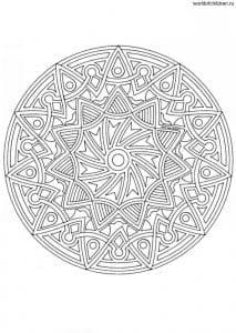 raskraska-antistress-cvetochnye-mandaly-213x300 Мандалы на белом