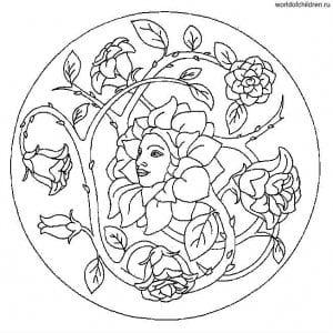 raskraska-antistress-tainstvennye-mandaly-300x300 Мандалы на белом