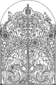 raskraska-dver-dlja-detej-198x300 Двери и арки