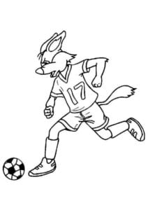 раскраска футбол распечатать (1)