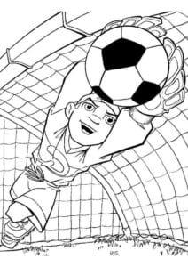 раскраска футбол распечатать (20)