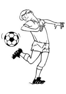 раскраска футбол распечатать (21)