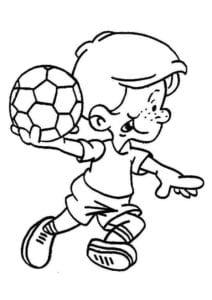 раскраска футбол распечатать (22)