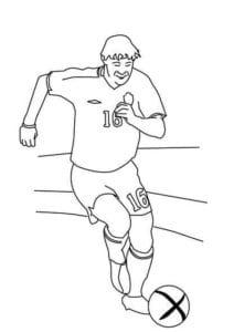 раскраска футбол распечатать (26)