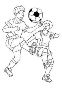 раскраска футбол распечатать (4)