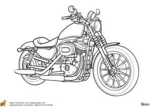 раскраска гоночный мотоцикл
