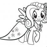 раскраска мой маленький пони вектор
