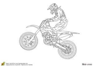 раскраска мотоцикл скачать