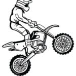 раскраска мотоциклов фото