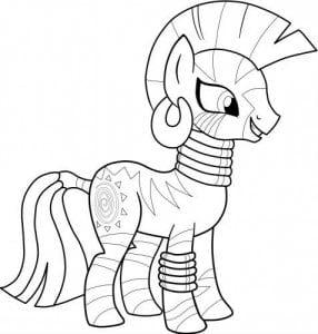 раскраска онлайн бесплатно маленькая пони