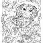 раскраска собака для детей 2 3 лет