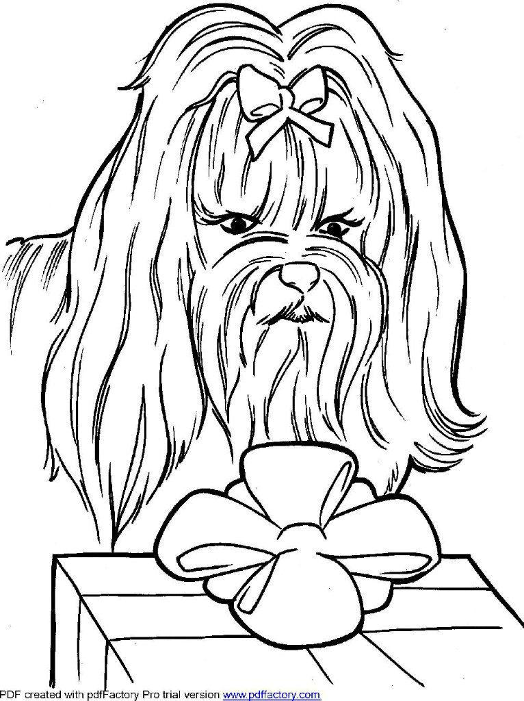 raskraska-sobaka-raspechatat раскраска собака сложная (10)