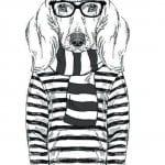 раскраска собака сложная (11)