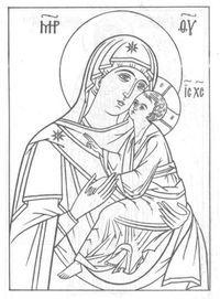 раскраски церковь и храм православие чудеса божии 2