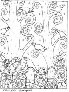 раскраски карлы жерар