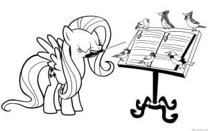 раскраски маленькие пони скачать бесплатно