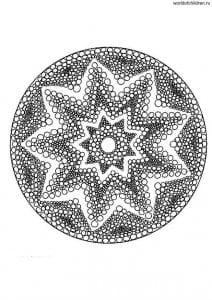 raskraski-mandala-antistress-raskrashivat-212x300 Мандалы на белом