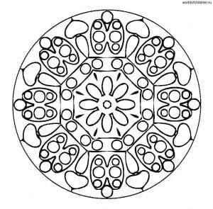 raskraski-mandala-pechatat-300x295 Мандалы на белом