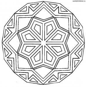 raskraski-mandaly-raspechatat-besplatno-297x300 Мандалы на белом
