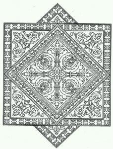 сложные и красивые узоры распечатать раскраски