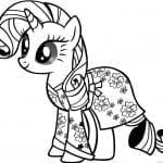 раскраски мой маленький пони большие