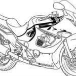 раскраски мотоциклы распечатать бесплатно