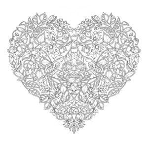 раскраски на день святого валентина распечатать