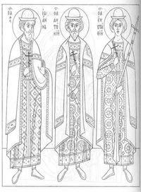 раскраски на православную тему 2
