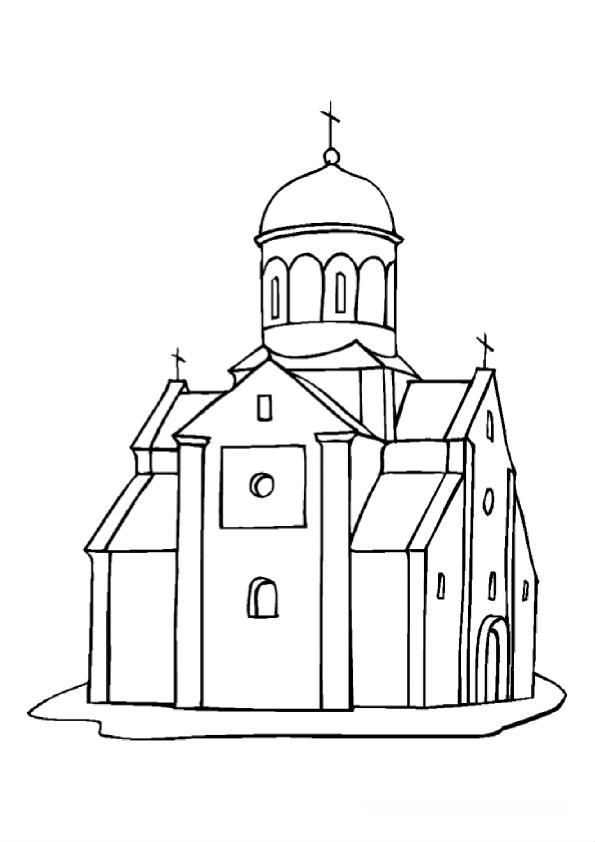 раскраски на тему православие