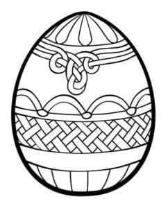 раскраски пасха яйца скачать красивая