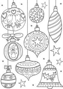 раскраски про новый год 2016